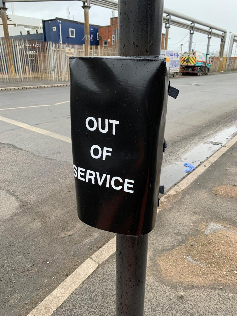 Out of Service bags